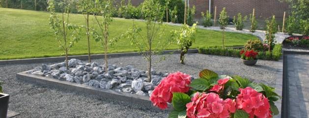 Realisatie complete tuinaanleg door Berkeltuin.nl uit Zuid Holland