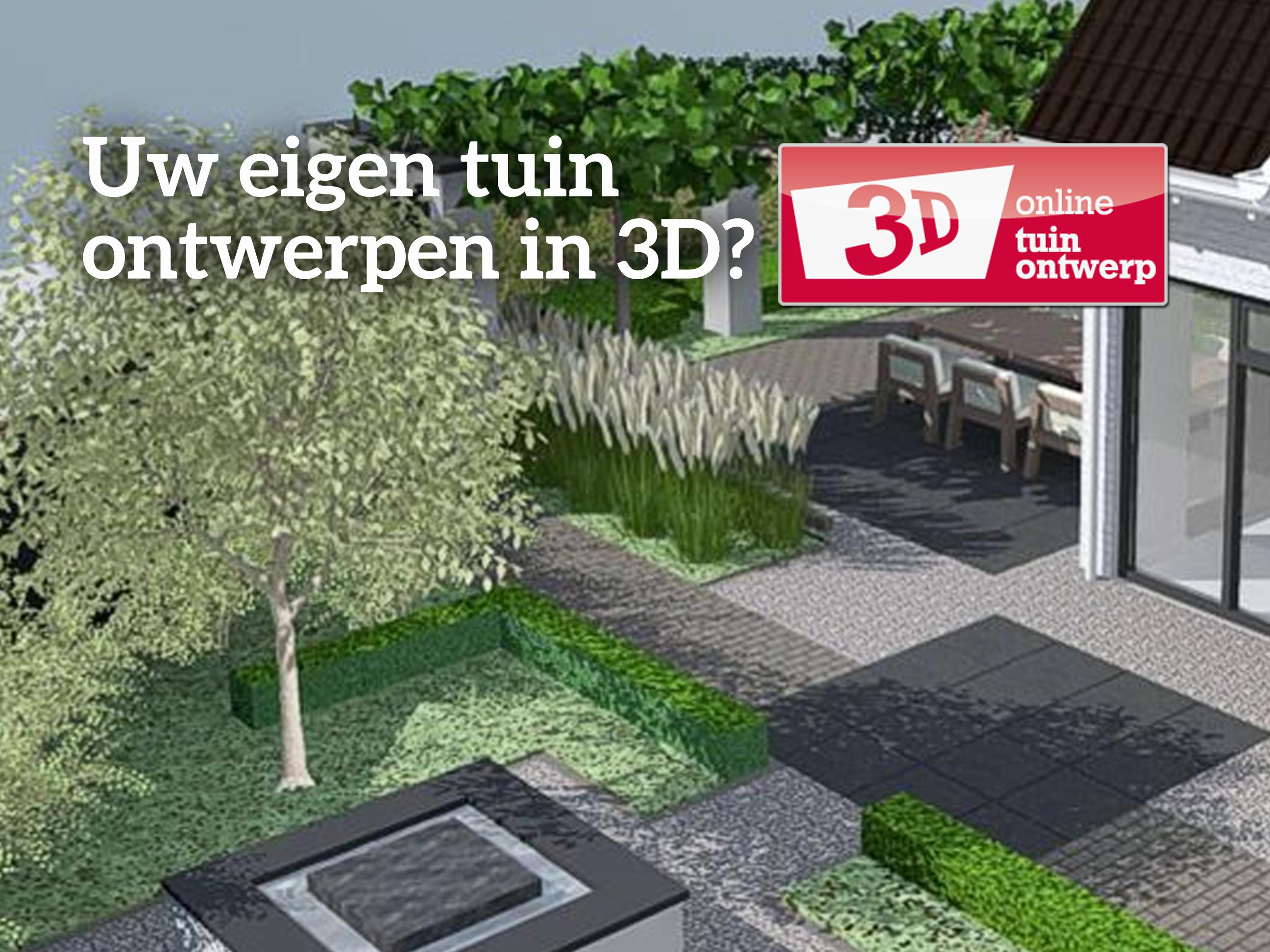 Tuin ontwerpen 3d potplanten buiten schaduw for 3d tuin ontwerpen