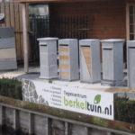 Brievenbussen van natuursteen in Berkel en Rodenrijs