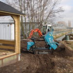 Tuinhuis en grondverzet Berkeltuin.nl Lansingerland