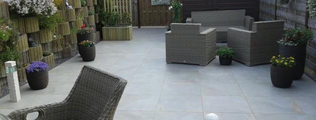 Realisatie Keramische terrastegels