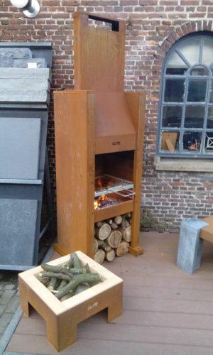 Janus tuinhaard en barbecue
